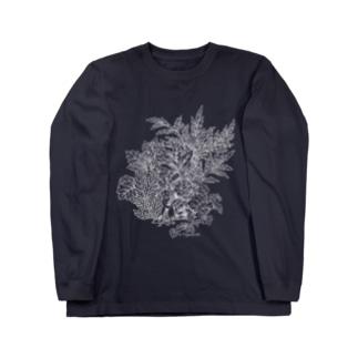 PygmyCat(白線ver) Long sleeve T-shirts