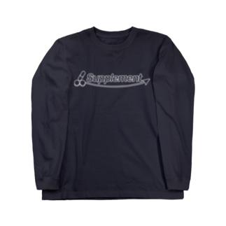 サプリメント2 Long sleeve T-shirts