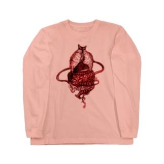 タイの妖怪「ピーガスー」首なし版 Long Sleeve T-Shirt