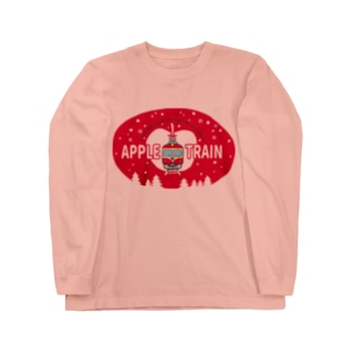 りんご電車(赤) Long Sleeve T-Shirt