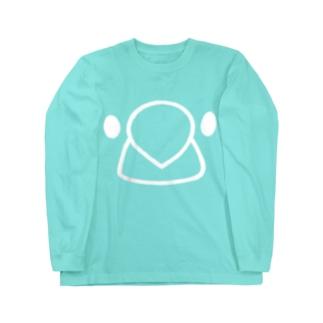文鳥フェイス2 Long Sleeve T-Shirt