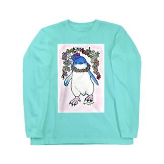 令和ぺんぎん-桜ふぇありー‐ Long Sleeve T-Shirt