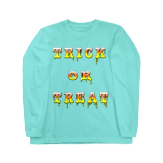 Candy Cone Trick or Treat Long sleeve T-shirts