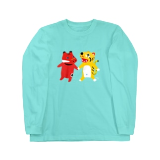 TOYTOY<赤べこと張り子の虎> Long Sleeve T-Shirt