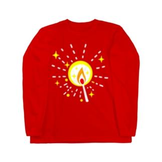 マッチの灯(星) ロングスリーブTシャツ