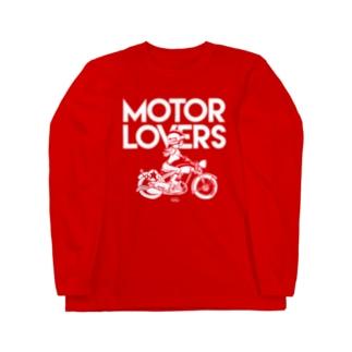 Motor Loves ロングスリーブTシャツ