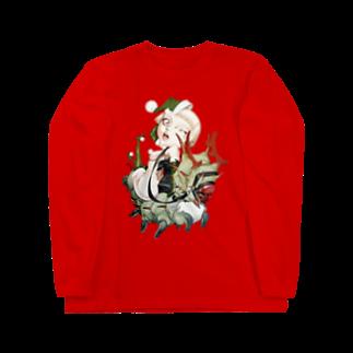 hassegawaのメリクリ芋虫 13cm Gnome ロングスリーブTシャツ