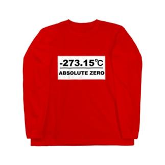 絶対零度(白プレートタイプ) ロングスリーブTシャツ