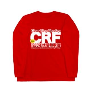 70年代 昭和歌謡 CRF ロングスリーブTシャツ