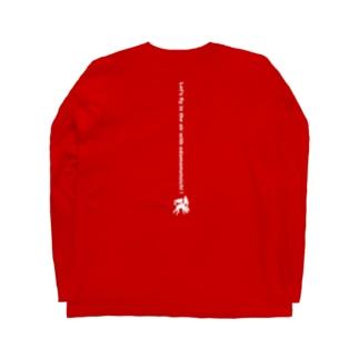 edamametoichiハロウィン3白 Long sleeve T-shirts