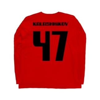 カラシニコフ 47 Kalashnikov AK-47 ソビエト 銃 Long sleeve T-shirts