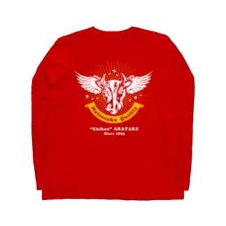 """[両面]Matsusaka Quality """"Red""""【株式会社新竹商店ライセンス品】 Long sleeve T-shirts"""