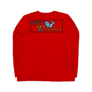 Let's get pumped! Long sleeve T-shirts