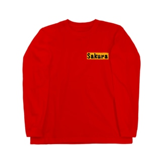 Sakura グッズ Long sleeve T-shirts