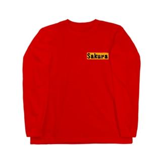 Sakura グッズ Long sleeve T-shirts