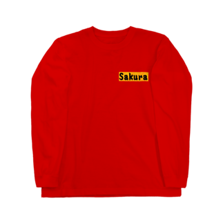 アメリカン★ベースのSakura グッズ Long sleeve T-shirts