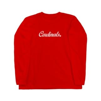 Cardinals【WHITE】 Long sleeve T-shirts