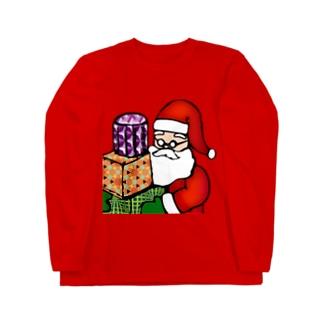 Logic RockStar ICON  Santa Long sleeve T-shirts