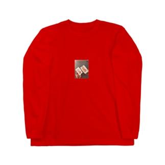 カップルいちごサンド Long sleeve T-shirts