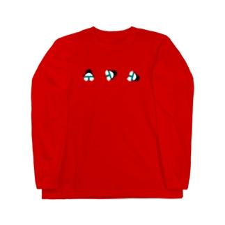 オスモウペンギン Long sleeve T-shirts