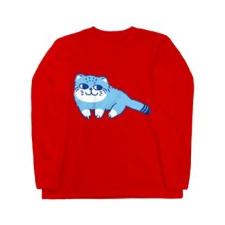 マヌルネコ Long sleeve T-shirts