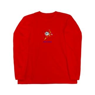 マスクド・レッド Long sleeve T-shirts