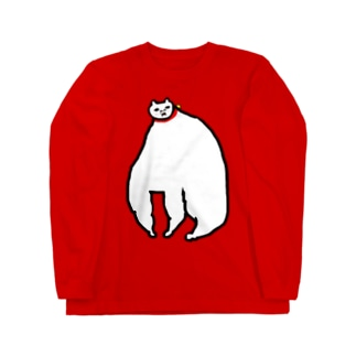 めっちゃ肥えた猫 Long sleeve T-shirts