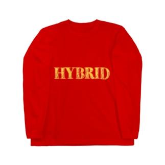 HYBRID系 Long sleeve T-shirts