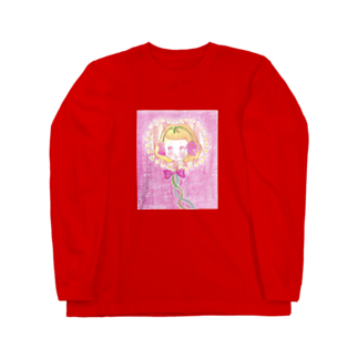 kaoru_littieのFlower baby Long sleeve T-shirts