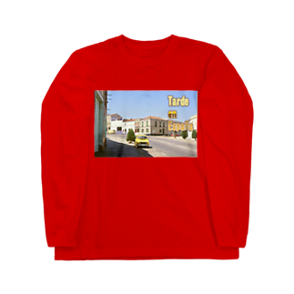 FUCHSGOLDのスペイン:村の昼下がり Spain: Afternoon of village Long sleeve T-shirts