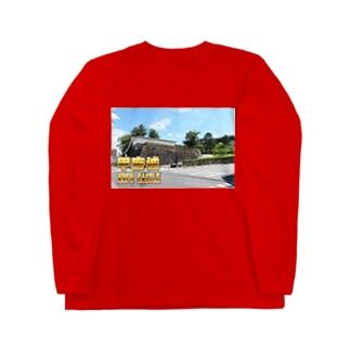 日本の城:甲府城(舞鶴城) Japanese castle: Kofu castle ( Maizuru castle) Long sleeve T-shirts