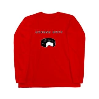CHEESE BUFF<チーズ愛好家> Long sleeve T-shirts