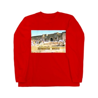 モロッコ:メクネスの城壁 Morocco: Walls of Meknes Long sleeve T-shirts