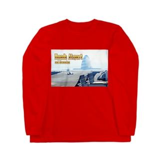 東京都+神奈川県:羽田空港と川崎人工島 Tokyo+Kanagawa: Haneda Airport and Kawasaki-jinkoutou  Long sleeve T-shirts
