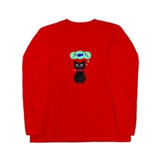 おなかすいた★むーちゃん Long sleeve T-shirts