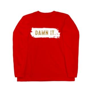 トップス DAMN IT. Long sleeve T-shirts