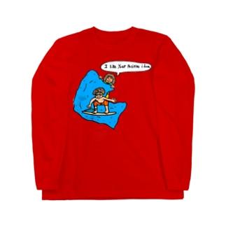 positive idea Long sleeve T-shirts