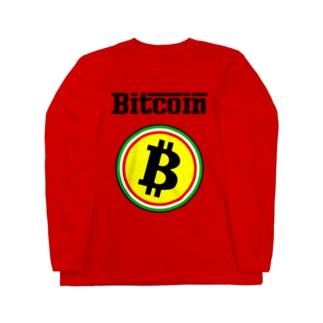 ビットコイン イタリア風 フェラーリ風 仮想通貨 トレード トレーダー 暗号通貨 FX Long sleeve T-shirts