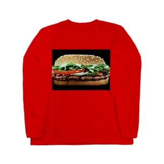 SHOP 318のバーガー(LLサイズ) Long sleeve T-shirts