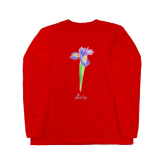 アイリス Long sleeve T-shirts