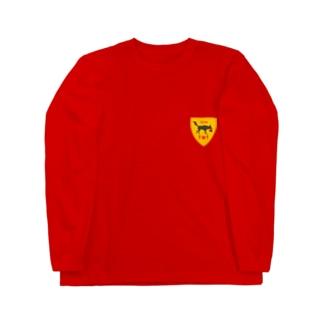 TEAM TMTエンブレム Long sleeve T-shirts