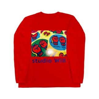 studio Will×INGRID カラフルロングスリーブTシャツ_B Long sleeve T-shirts