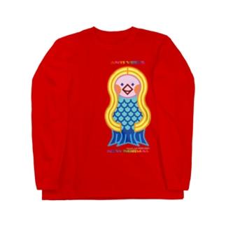 AMABIE_2nd Long sleeve T-shirts