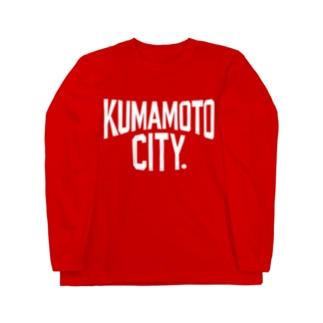 KUMAMOTO CITY(熊本シティ) Long sleeve T-shirts
