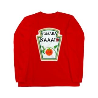 トマトがトマらない!? Long sleeve T-shirts