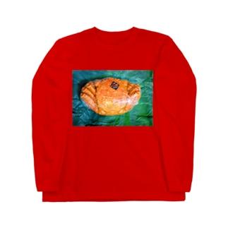 momo_emiのカニ Long Sleeve T-Shirt
