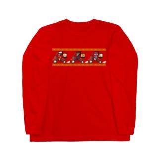 中華的・交货(チャイニーズフード・デリバリー) Long sleeve T-shirts