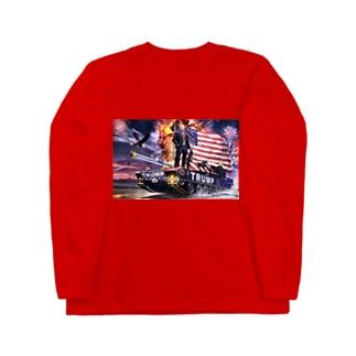 MAGA Q Long sleeve T-shirts
