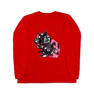 Bugs series -ladybug- Long sleeve T-shirts
