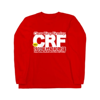 70年代 昭和歌謡 CRF Long sleeve T-shirts